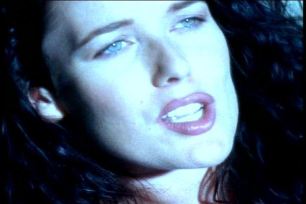 "Singer-songwriter Lauren Christy, from the music video for ""The Color of the Night"""